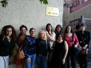 סיור בנושא סחר בנשים . אופק נשי (1)